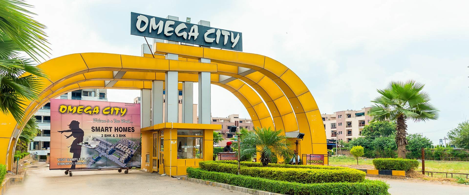 omega city banner